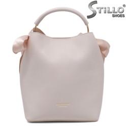 Geanta dama de culoare roz bombon - 35216