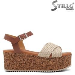 Sandale dama cu platforma  - 35226