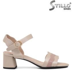 Sandale dama cu toc mijlociu - 35253