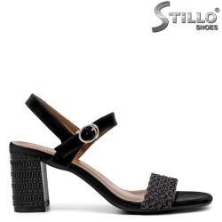 Sandale dama elegante cu toc inalt - 35259