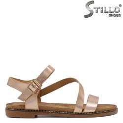 Sandale dama tip romane de culoarae cuprului - 35293