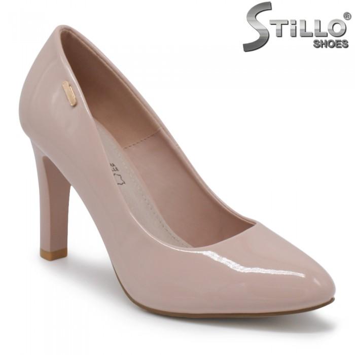 Pantofi dama din lac cu toc inalt – 35436