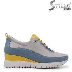 Pantofi dama sport multicolor cu sireturi – 35453