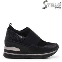 Pantofi dama sport cu platforma ascunsa– 35454
