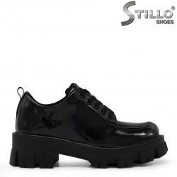 Pantofi dama din lac cu talpa groasa – 35494