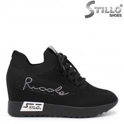 Pantofi dama sport cu pietricele si platforma ascunsa – 35841