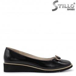 Pantofi dama din lac cu funda- 35960