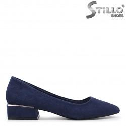 Pantofi dama cu toc patrat - 35972