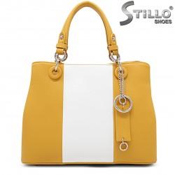 Geanta dama de culoare galben – 35942
