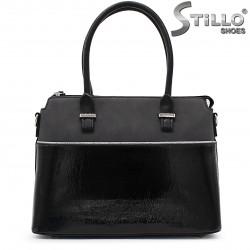Geanta dama eleganta de culoare negru - 35965