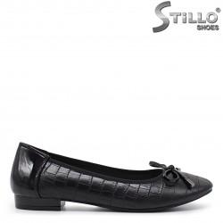 Pantofi dama cu imprimare croco – 35971