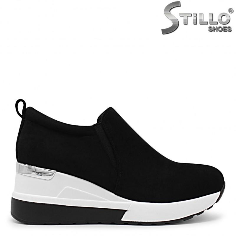 Pantofi dama sport cu platforma -36036