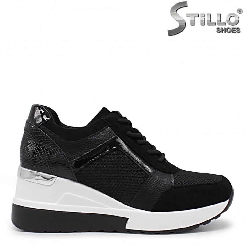 Pantofi dama sport cu platforma- 36039