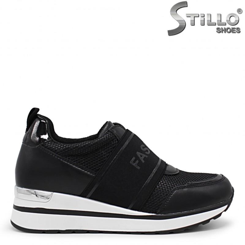 Pantofi dama sport cu elastic - 36045