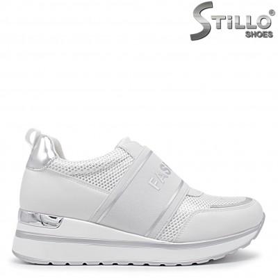 Pantofi dama sport de culoare alb- 36046