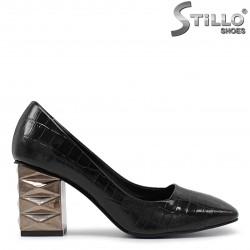Pantofi dama cu toc metalic-36083
