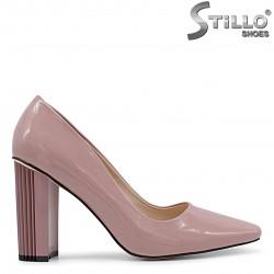 Pantofi dama de culoare  roz-mov - 36092