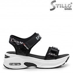 Sandale dama sport cu platforma - 36025