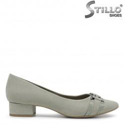 Pantofi dama de culoare verde  MARCO TOZZI -36030