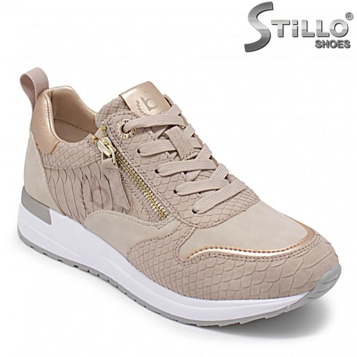 BUGATTI pantofi sport cu imprimanta tip sarpe- 36114