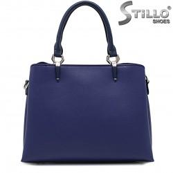 Geanta dama de ocazie de culoare albastru - 36146