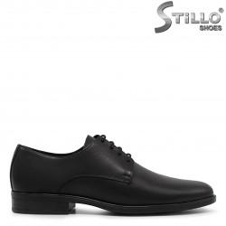 Pantofi barbati de ocazie cu sireturi - 36164