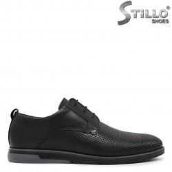 Pantofi barbati din piele si cu perforatie - 36165