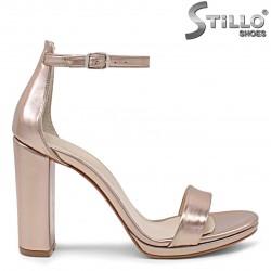 Sandale dama de culoare roz auriu - 36172