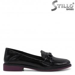 Pantofi dama casual cu toc jos- 36203