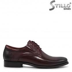 Pantofi barbati de culoare bordeux - 36212