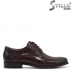 Pantofi barbati de ocazie de culoare maro- 36217