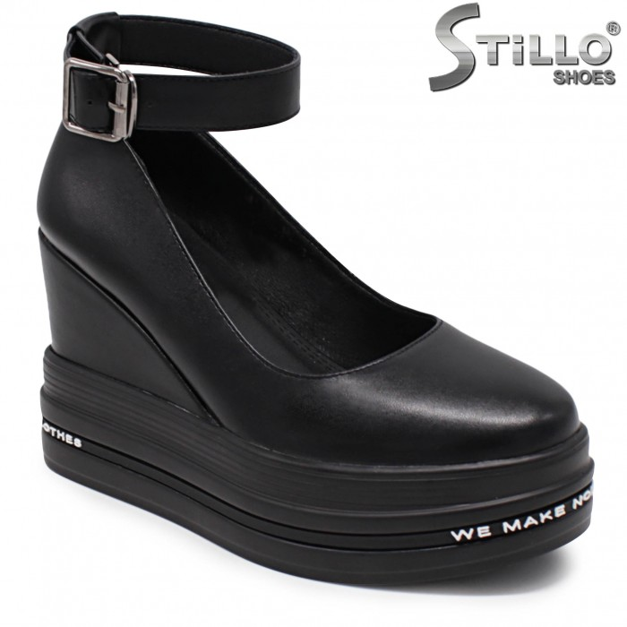 Pantofi sport eleganti cu platforma- 36219