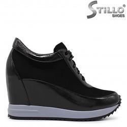 Pantofi dama sport cu platforma - 36228
