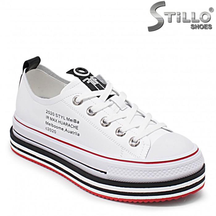 Pantofi dama sport pe platforma - 36242