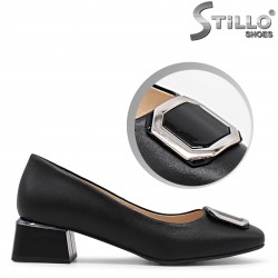 Pantofi dama cu toc mijlociu - 36256