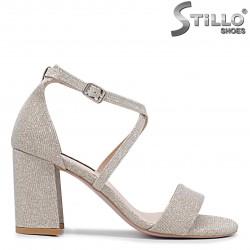 Sandale dama aurii pentru banchet - 36264