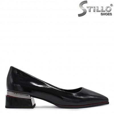 Pantofi dama cu toc jos - 36273