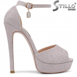 Sandale dama pentru banchet cu toc inalt - 36278