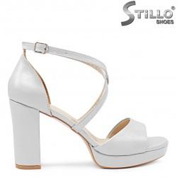 Sandale dama pentru banchet cu platforma - 36293