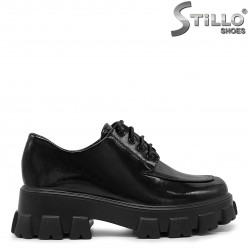 Pantofi dama cu platforma si talpa grunge - 36299