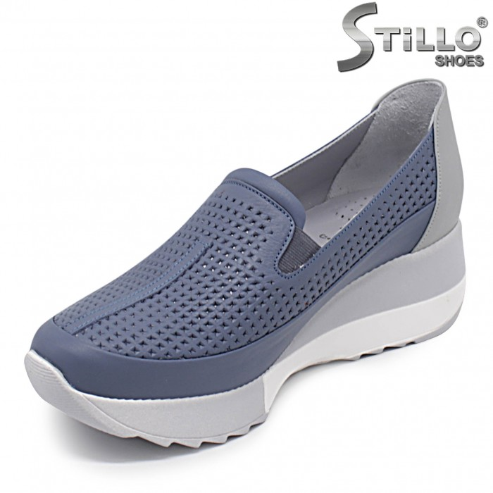 Pantofi dama sport eleganti si cu platforma - 36330