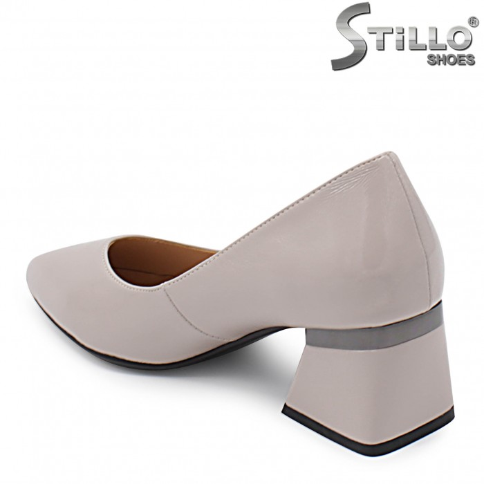 Pantofi dama cu toc mijlociu - 36335