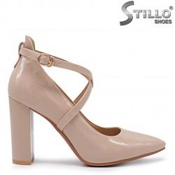 Pantofi dama curelusa si cu toc - 36338