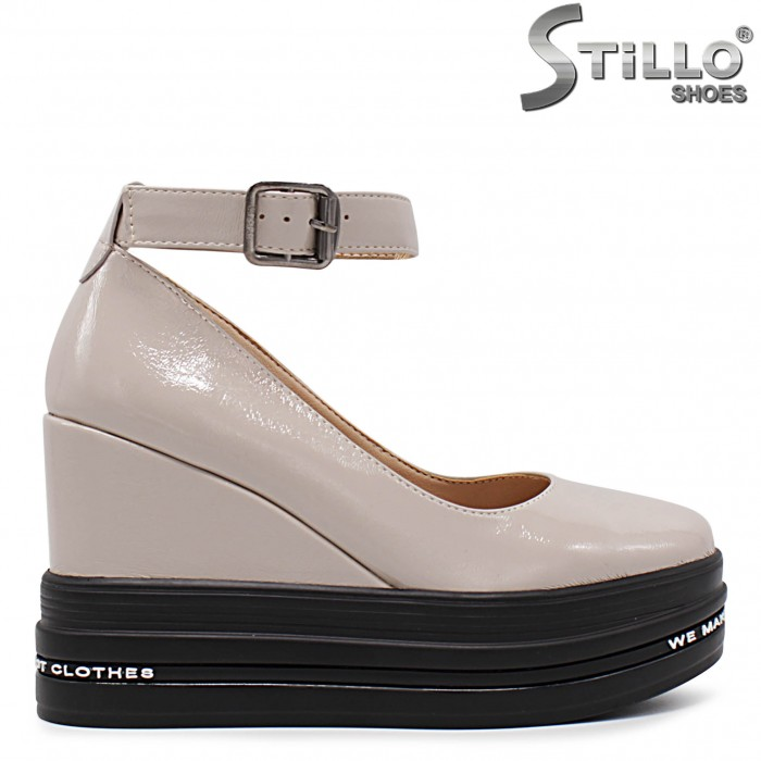 Pantofi dama sport eleganti cu platforma - 36342