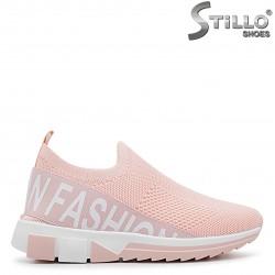 Pantofi dama strech roz - 36400