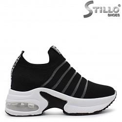 Pantofi sport dama de vara  din textil si  cu platforma  – 36495