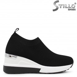 Pantofi dama sport din textil si cu platforma  – 36560