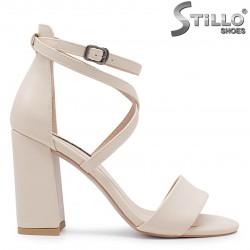 Sandale cu curelusa si cu toc inalt - 36644