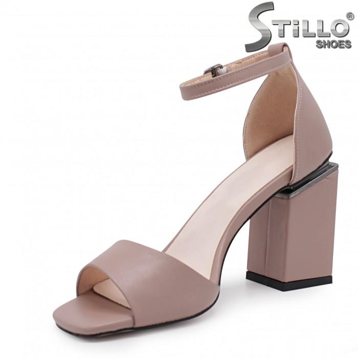 Sandale dama cu toc inalt - 36647