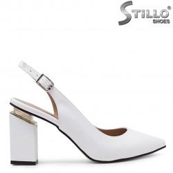 Pantofi dama eleganti cu partea din spate decupata - 36648